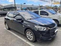Chevrolet Onix 1.0 Turbo Flex Plus LT Auromático 2020 Preto!