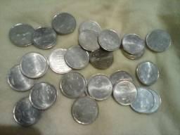 Vinte e.cinco moedas de 20 cent euros