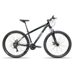 Título do anúncio: Bike RAVA aro 29 com 20v Preta/azul nova
