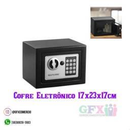 Cofre eletrônico 17x23x17cm