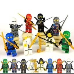 Título do anúncio: Bonecos Ninja Blocos de Montar Compativel com Lego