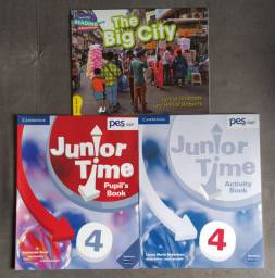 Apostila PES Positivo - Book Junior Time 4