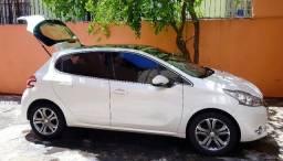 Peugeot 208 Griffe 1.6 16v Flex Branco Perolizado