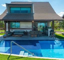 GN-Bangalô mobiliado beira mar de Muro Alto, piscina privativa, 5 quartos. Última unidade