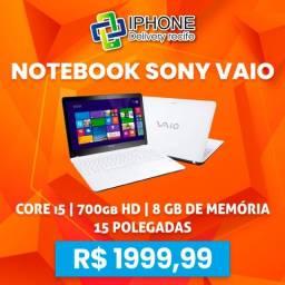 Notebook Sony Vaio Intel Core i5 / 700gb / 8gb (Entrega Grátis)