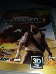 Título do anúncio: Jogo de ps3 uncharted