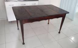 Só Mesa madeira itaúba de abrir antiga