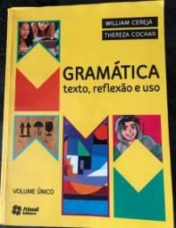 Livro de Gramática texto reflexivo e uso