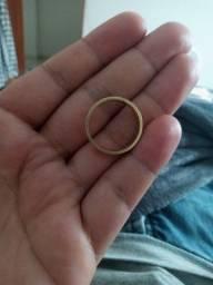 Aliança de ouro 18k 9 gramas