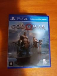 Vende-se jogo god of war para playstation 4