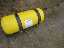 Kit Gás GNV veicular usado, cilindro 16m3 + kit + suporte