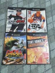 Coleção de 4 Jogos de GameCube