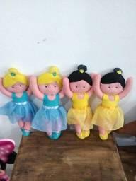 Bailarinas de feltro