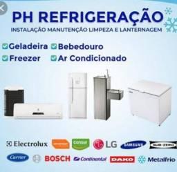 Título do anúncio: refrigeração e máquina de lavar *