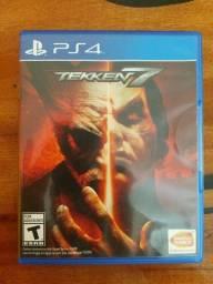 Jogo playstation 4 Tekken 7 semi novo aceito troca