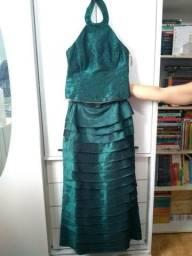 Vestido Verde de Festa