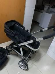 Carrinho com bebê conforto c isofix Epic Infanti