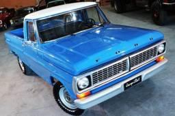 Ford F1000 1980, Mwm 229, turbinado e interculado, 5 m com Ar cond e Dh: