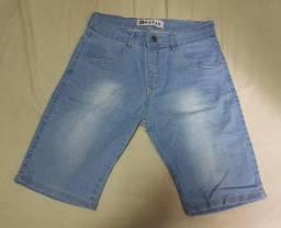 Duas Bermudas Jeans Numero 38 em perfeito estado