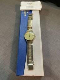 Título do anúncio: Relógio Tissot Swiss todo em Ouro18k - possui NFe