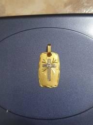 Pingente ouro 18k