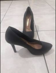 Título do anúncio: Sapato Preto VIA MARTE N.35