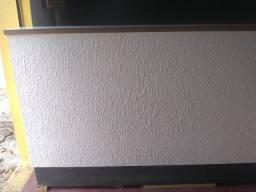 Balcão caixa de madeira