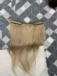Mega Hair loiro liso