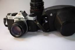 Pentax KX - lente asahi pentax 1.4 - lente zoom sakura f4 28-200