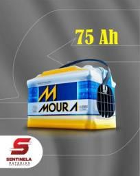 Bateria Moura 75 Ah - Entrega e Instalação Gratuitas