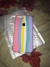 Capa de iPhone arco-íris 7/8plus