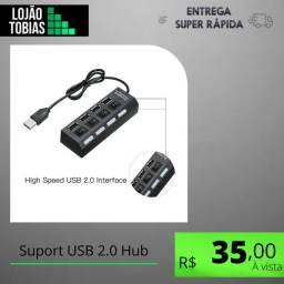 Suport USB 2.0 Hub - White