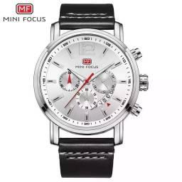 Relógio masculino original Mini Focus todo funcional