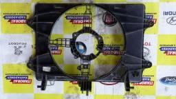 Defletror carenagem suporte ventoinha eletroventilador fiat doblo