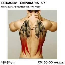 Tatuagem Temporária - Asas