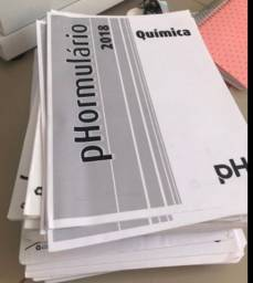 LISTAS DE EXERCÍCIOS + Formulários pH ((DOAÇÃO))