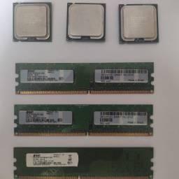 Core2 Quad Memórias DDR 2 LGA 775