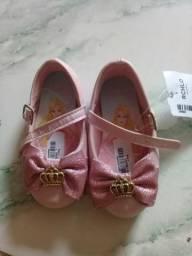 Sapato infantil princesa