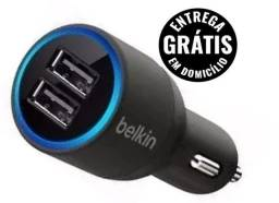 Carregador de Celular Veicular Super Carga - Novo - entrega grátis