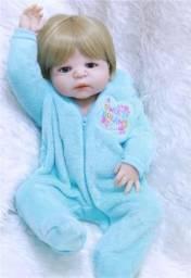 Bebê Reborn Ester Corpo completo de silicone NOVA Última Unidade Contate-nos