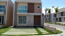 LS: Estrada Do Fio Eusébio|Casa Em Condomínio Com 98m²,3 Quartos,Varanda,Quintal,2 a 3 Vag