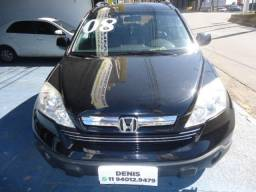 Honda Cr-v Exl 2008 preta c/ teto estudo troca e financio - 2008