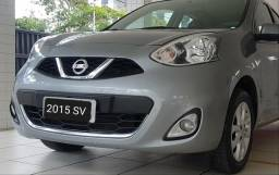Nissan March 2015 SV Completo - 2015