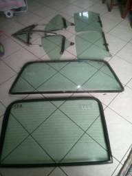 Vidro verde opala