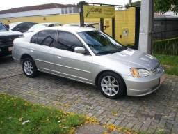 Civic LX 1.7 completo, troco - 2003
