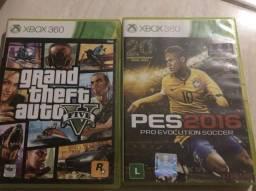 Vendo dois jogos originais 360