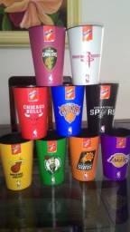 Coleção de Copos Nescau NBA