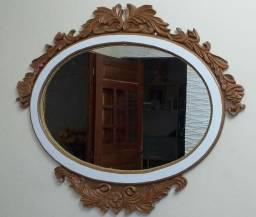 Espelho talhado tipo colonial e Mandalas a partir de 100R$