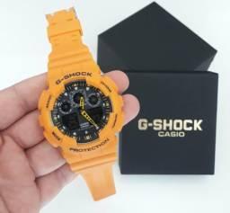 d04d9e782c5 Relógio G Shock Casio Amarelo Automático