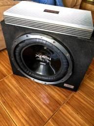 Subwoofer Sony 15' 1300W + Modulo Hinor CB3.2k